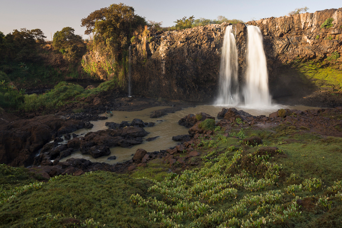 Lake Tana Tisisat falls along the Blue Nile - photo: Bruno D'Amicis