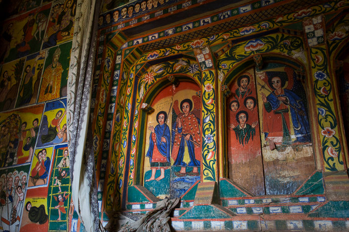 Cultural heritage – some of the Ethiopian Orthodox churches date back to the 14th century (Bruno D'Amicis)