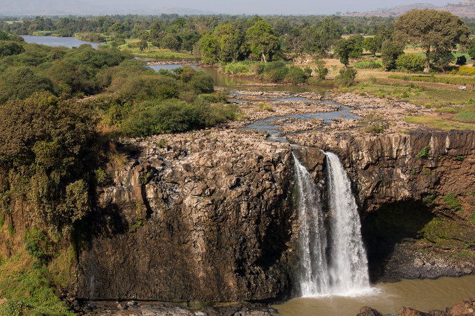 Tis Issat also known as the Blue Nile Falls – an impressive sight south of Lake Tana (Bruno D'Amicis)