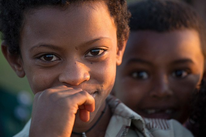 Ethiopian families are large – the average family has 4 or more children (Bruno D'Amicis)